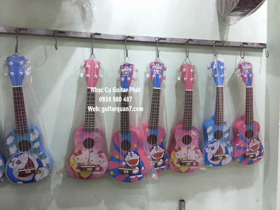 đàn ukulele hello kitty