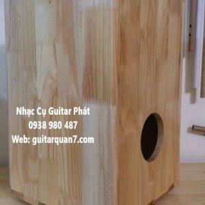 Trống cajon gỗ thông