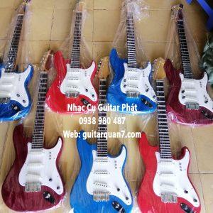 Đàn guitar điện vọng cổ nhạc phím lõm giá rẻ