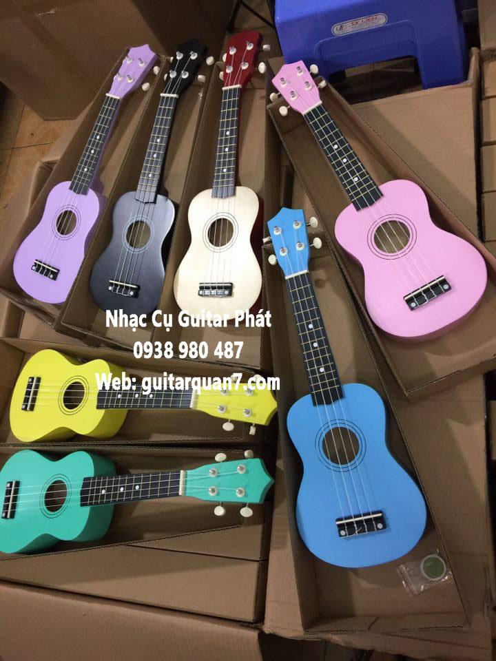 đàn ukulele giá rẻ tại quận 7 nhà bè tphcm